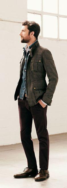 .:Casual Male Fashion Blog:. (retrodrive.tumblr.com)current trends | style | ideas | inspiration | non-flamboyant Love the combo!