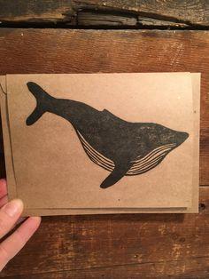 Whaling around #printedstationary #printmaker #printmakerofinatagram #newlisting #etsy #papergoods #nauticalbirthday #aquatic #water #ocean #oceanlife #mobydick