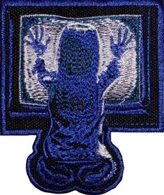 poltergeist logo embroidered patch horror movie girl tv portal steven #spielberg from $8.99