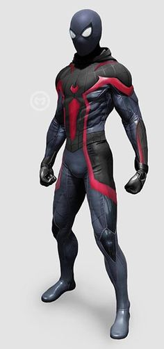 Spiderman Suits, Black Spiderman, Spiderman Costume, Spiderman Spider, Amazing Spiderman, Marvel Venom, Marvel Art, Marvel Heroes, Marvel Comics