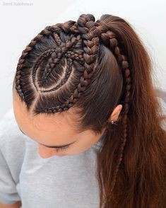 28 Gorgeous Multiple braids Hairstyles for Women in hairstyles hairstyles 2018 pictures,box braids hairstyles Box Braids Hairstyles, Pretty Hairstyles, Girl Hairstyles, Hairstyles 2018, Hairstyle Ideas, Ethnic Hairstyles, Hairdos, Hair Ideas, Curly Hair Styles