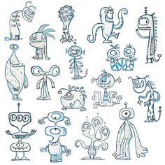 alien+characters.jpg 800×800 pixels