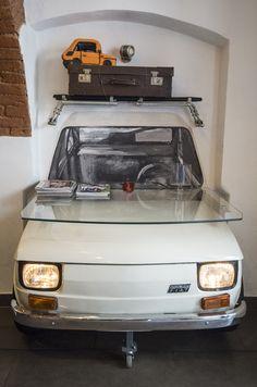 Maluch Cafe - bar and museum of FIAT 126.  #Maluch #Fiat126 #Poland #Polska #BielskoBiala #car #samochód