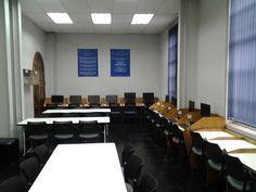 Interior de Biblioteca CFT CCS. #escueladecomerciodesantiago #bibliotecaccs