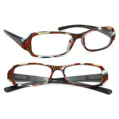 2099aa77f37 LZ New York Women Fashion Reading Glasses w  Genuine Swarovski Crystal  (Multi) for