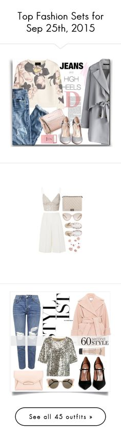 """""""Top Fashion Sets for Sep 25th, 2015"""" by polyvore ❤ liked on Polyvore featuring Chicwish, By Malene Birger, J.Crew, Givenchy, Gianvito Rossi, Pier 1 Imports, NARS Cosmetics, Sweater, jeans and highheels"""