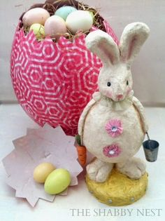 The Shabby Nest: Easter Craft Round-Up~