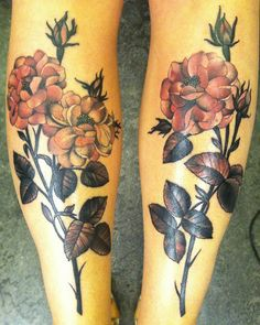 Valves. Never liked leg or thigh pieces nut the more good ones I see, the more open-minded I become. Style: Amanda Leadman - Black 13 Tattoo by Black 13 Tattoo, via Flickr
