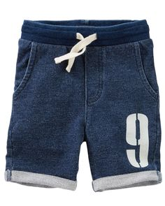Toddler Boy French Terry Varsity Shorts from OshKosh B'gosh. Shop clothing & accessories from a trusted name in kids, toddlers, and baby clothes.