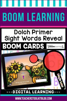 THIS IS AN INTERACTIVE DIGITAL RESOURCE. Download the preview to play a shortened version of the Boom Deck – this will help you decide if the resource is suitable for your students. ABOUT THIS BOOM DECK: This seasons-themed, 52 card deck, will help young learners practice and review Dolch Primer Sight Words in a fun and engaging way!  Students should drag the 'MAGIC LENS' over the secret word to reveal it.