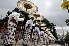 traditional ceremony in wonosobo indonesia