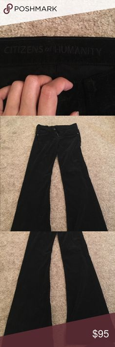 Citizens of Humanity corduroy pants EXCELLENT condition corduroy pants by Citizens of Humanity. No visible wear. Worn only a few times in Seattle before moving to the south wear these are just too HOT! Citizens of Humanity Pants Boot Cut & Flare