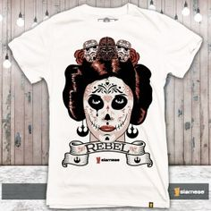 Camiseta Leia Rebel Princess
