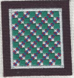 copyright Napa Needlepoint, model stitched by Cheryl Jariosh