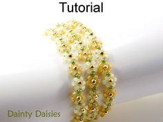 Beading Tutorial Pattern Bracelet Necklace by SimpleBeadPatterns