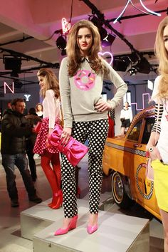 playful prints at kate spade fall 2013 {especially love the #donut sweater}
