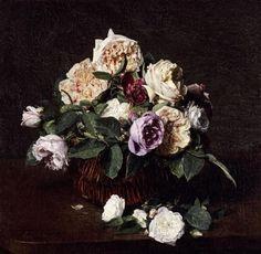Vase De Fleurs by Henri Fantin-Latour