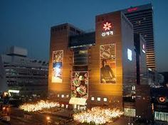 One of the department store titans in South Korea, Shinsegae.