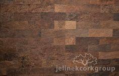 Cork Wall Tile - California with PSA Self Adhesive Backing | Jelinek Cork