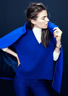 Cameron Russell for J.Crew Collection, October 2013
