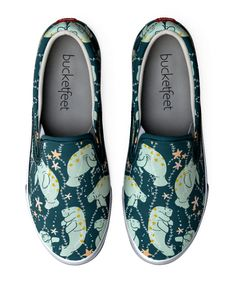 A pair of slip-ons with your favorite blubbery sea nuggets. | 33 Of The Cutest Accessories You've Ever Seen