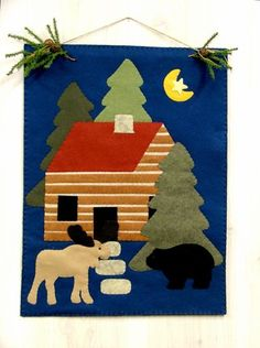 North Woods Wall Hanging