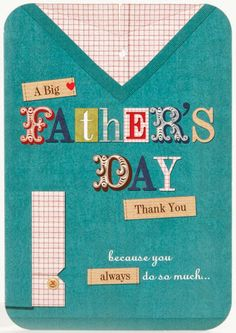 clinton cards fathers day from bump