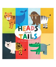 Look at this #zulilyfind! 'Heads and Tails' Hardcover Book by Silver Dolphin Books #zulilyfinds