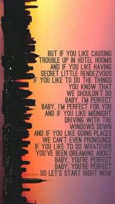 Not sure why but I really love the lyrics to this song