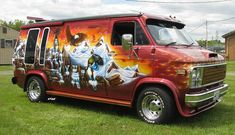 Eagle's Lair, custom Chevy van | Flickr - Photo Sharing!