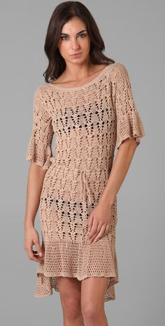 Outstanding Crochet: Foley + Corinna. Crochet dress.