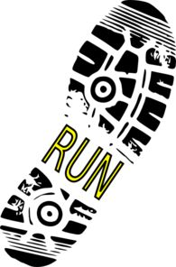 Clip Art Running Shoes Clip Art clip art running shoes shoe print for track run text in the middle can say mom25k