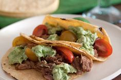 Sweet pulled pork tacos in the slow cooker
