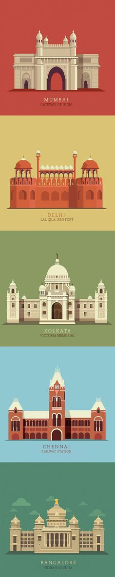 The 10 most popular cities in India illustrated. If you like UX, design, or design thinking, check out theuxblog.com