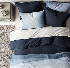 Garment-Dyed Vintage Cotton Bedding Collection | RH TEEN