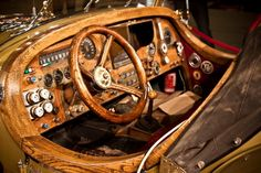 Steampunk car -  '78 II Tempo Gigante - dashboard