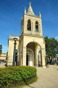 Cotorro church, in one of the municipalities of Havana, Cuba