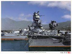 IJN Battleship Hyuga, 1936