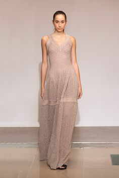 Azzedine Alaïa Stages a Sweeping Spring '15 Show of 90-Plus Looks at His Paris Atelier - Gallery Slide 1