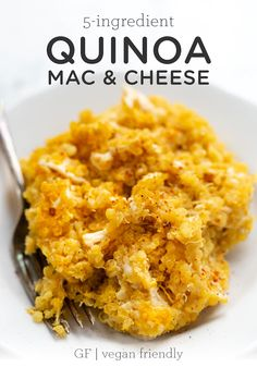 Do you love mac and cheese but trying to reduce the calories and fat? Were serving up our best HEALTHY version in this Quinoa Mac and Cheese! This easy recipe is baked in the oven so you have a creamy homemade dinner in no time. Healthy Mac N Cheese Recipe, Quinoa Mac And Cheese, Crockpot Mac And Cheese, Cheese Recipes, Macaroni And Cheese, Vegan Cheese, Vegetarian Recipes, Healthy Recipes, Paleo Food