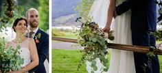 Wedding photos, bride and groom, outdoor wedding session