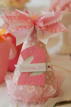 Festa de aniversário: rosa