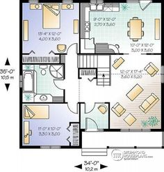 1st level Small and affordable bungalow, 2 bedrooms, cathedral ceiling, closed foyer - Fletcher