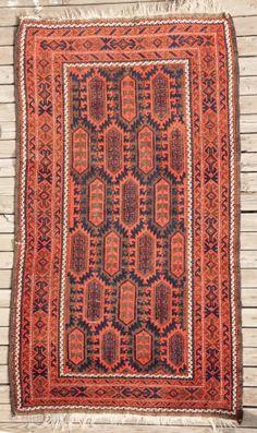 Baluch Rug 107 X 187 Cm 3 6 X 6 1 Rugs Rugs On Carpet Asian Rugs