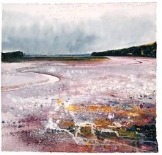 Wild Lace: Kurt Jackson - The Tamar Dowr Tamer Abstract Landscape Painting, Seascape Paintings, Landscape Art, Landscape Paintings, Landscape Photography, Landscapes, Watercolour Painting, Watercolors, Kurt Jackson