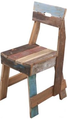 Upcycle chair from scrap wood - I would like these for my garage