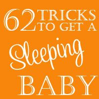 62 Tricks to Get a Sleeping Baby - I recommend being boring from 8:30 PM to 7 AM.  No playing with baby and keep talking to a minimum.