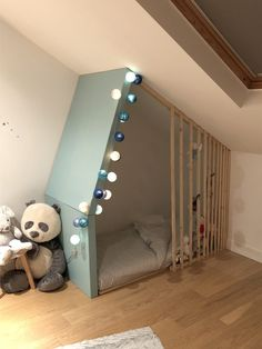Doe-het-zelf: Fabriquer un lit-cabane pour enfant Baby Bedroom, Kids Bedroom, Kid Beds, Boy Room, My Dream Home, Room Inspiration, Playroom, Toddler Bed, New Homes
