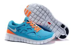 pretty nice 484b1 09bbf Buy Mens Nike Free Run+ 2 Running Shoes Sky BlueOrangeWhite Online from  Reliable Mens Nike Free Run+ 2 Running Shoes Sky BlueOrangeWhite Online  ...