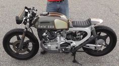 """Low and Mean"" Cafe Racer 500 from 78 Honda CX500, Walk around and build,"